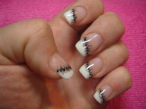 Decoration ongles modele