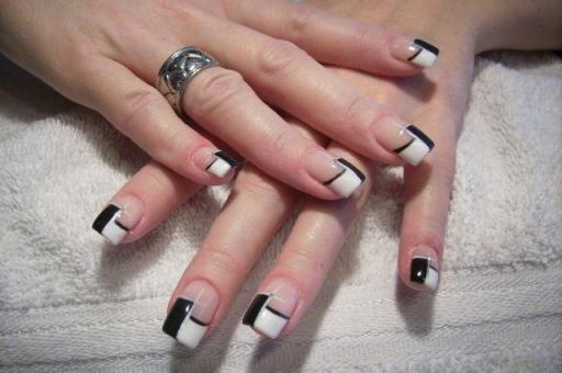 Photo d 39 ongle d cor nail art techniques de d coration for Salon pour les ongles